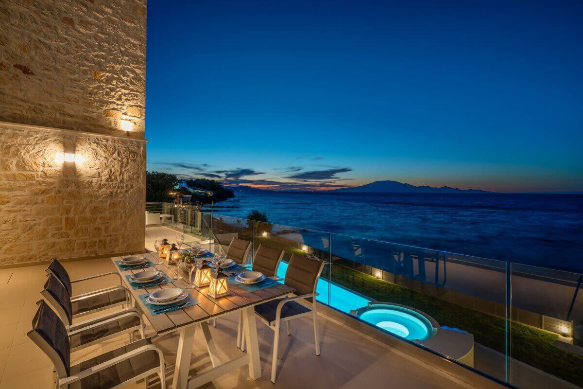 Perla Luxury Beach Villas in Zante Greece Zakynthos -  Tragaki Zante