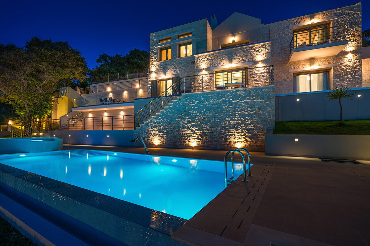 Perla Private Pool villas on the beach in Zante Greece -  Tragaki Zakynthos