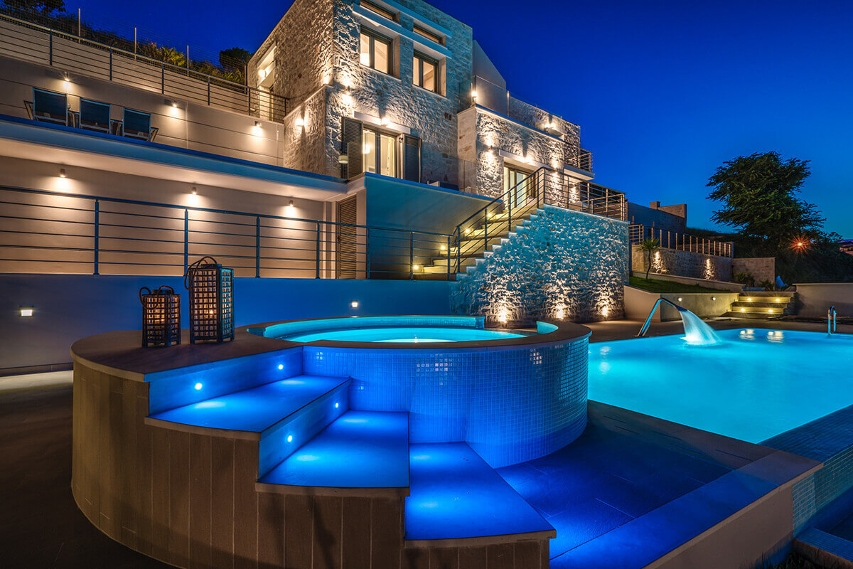 Luxury Beach Villa in Zakynthos -  Tragaki Zante