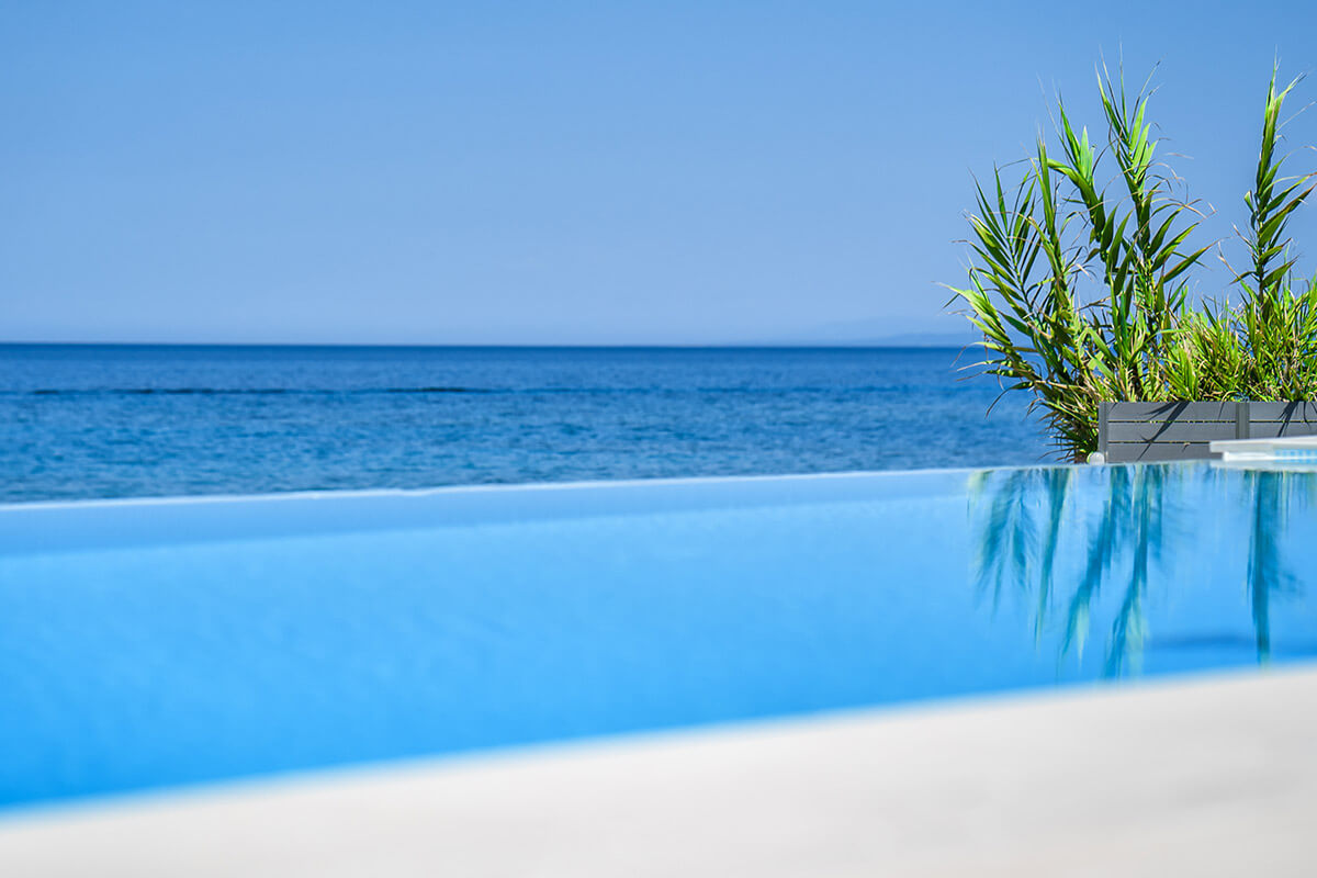 Perla Luxury Beach Villa with Private swimming pool in Zante Greece